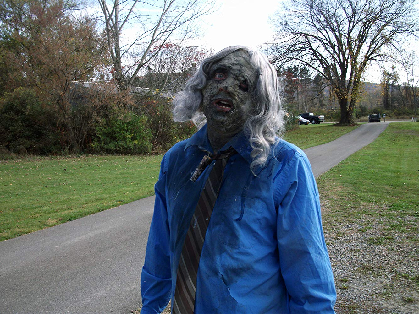 A zombie from Bigfoot vs Zombies (2016)