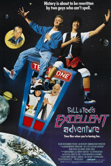 Bill and Ted's Excellent Adventure (1989) poster