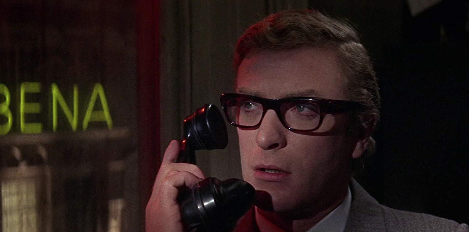 Michael Caine as Harry Palmer in Billion Dollar Brain (1967)