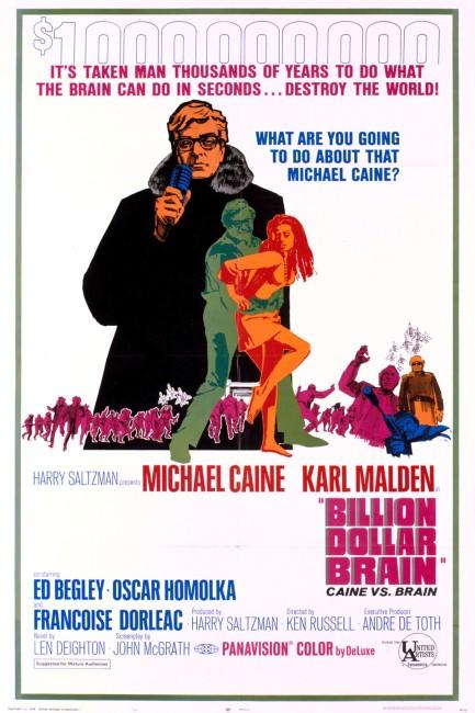Billion Dollar Brain (1967) poster