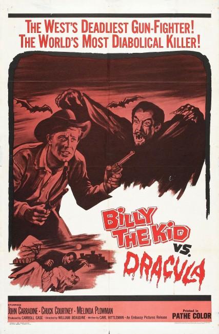 Billy the Kid Versus Dracula (1966) poster