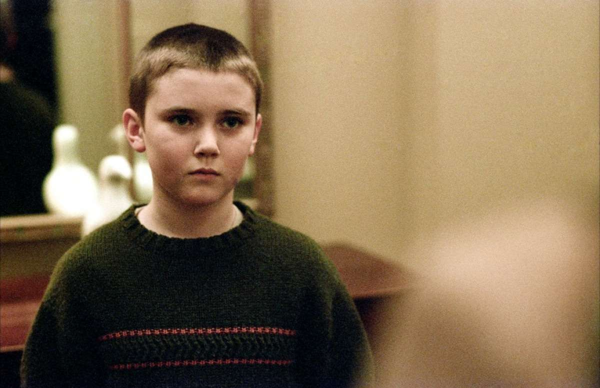 Cameron Bright as the ten year-old boy who claims to be Nicole Kidman's reincarnated husband in Birth (2004)