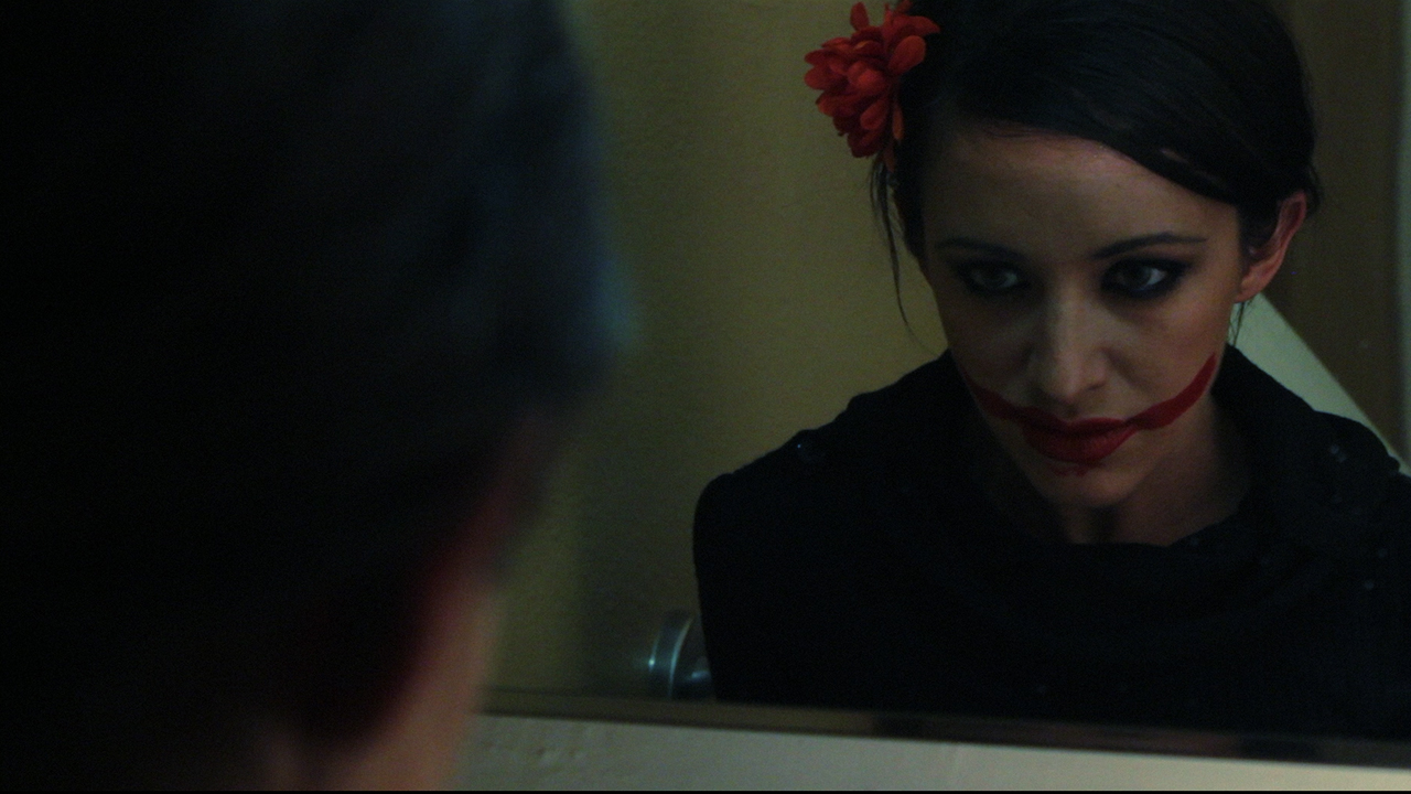 Devanny Pinn haunted by the ghost of the Black Dahlia in The Black Dahlia Haunting (2012)