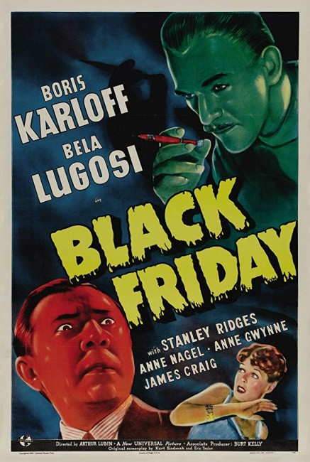 Black Friday (1940) poster