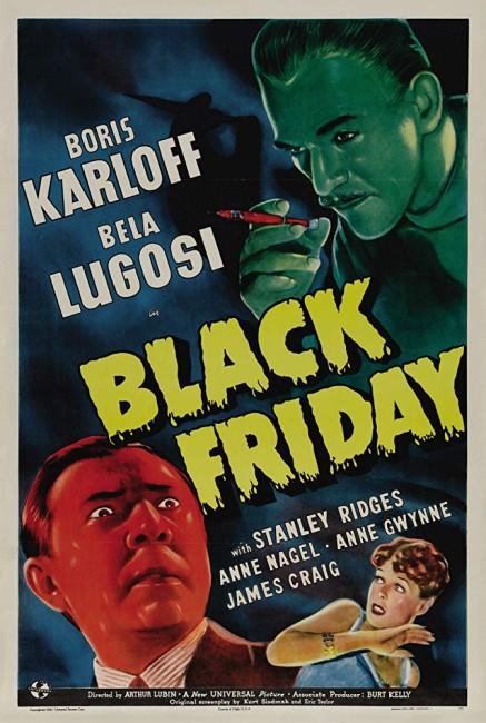 Black Friday (1940) poster