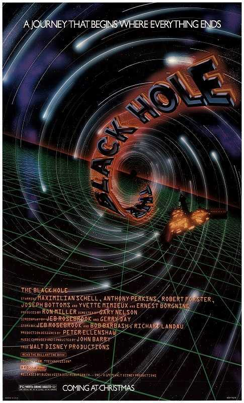 The Black Hole (1979) poster