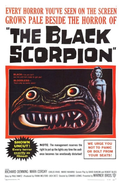 The Black Scorpion (1957) poster 2