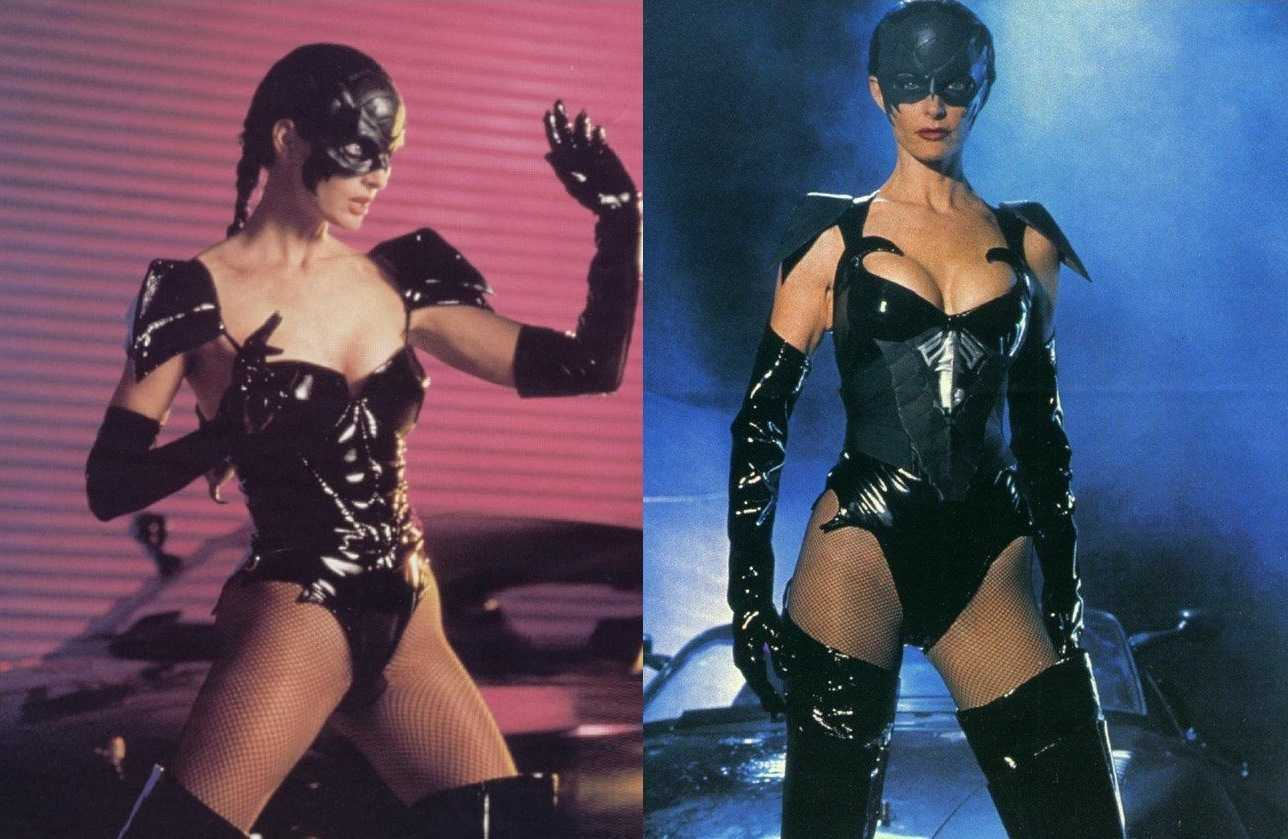 Joan Severance as Darcy Walker aka Black Scorpion (1995)