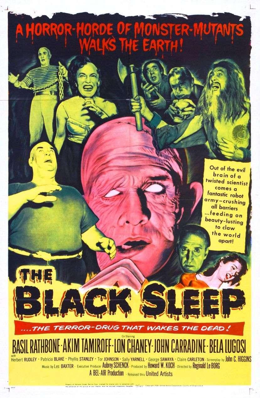 The Black Sleep (1956) poster