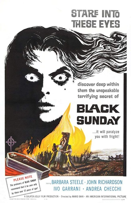 Black Sunday (1960) poster