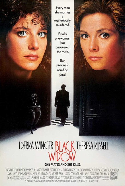 Black Widow (1987) poster