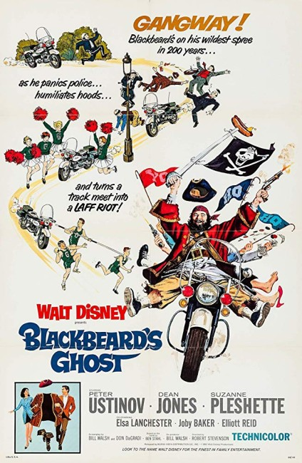 Blackbeard's Ghost (1968) poster