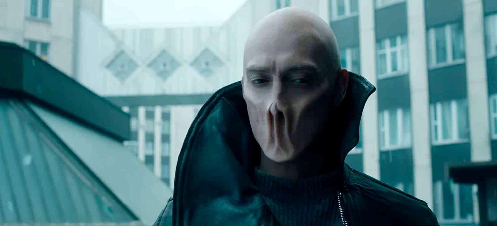 Artyom Tkachenko as the alien Id in The Blackout (2019)