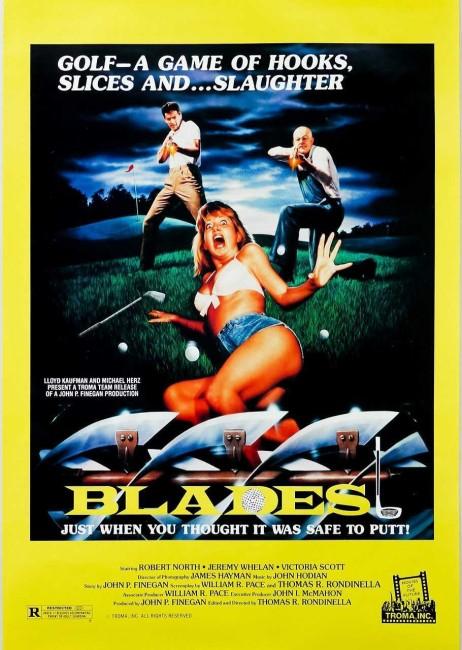 Blades (1989) poster