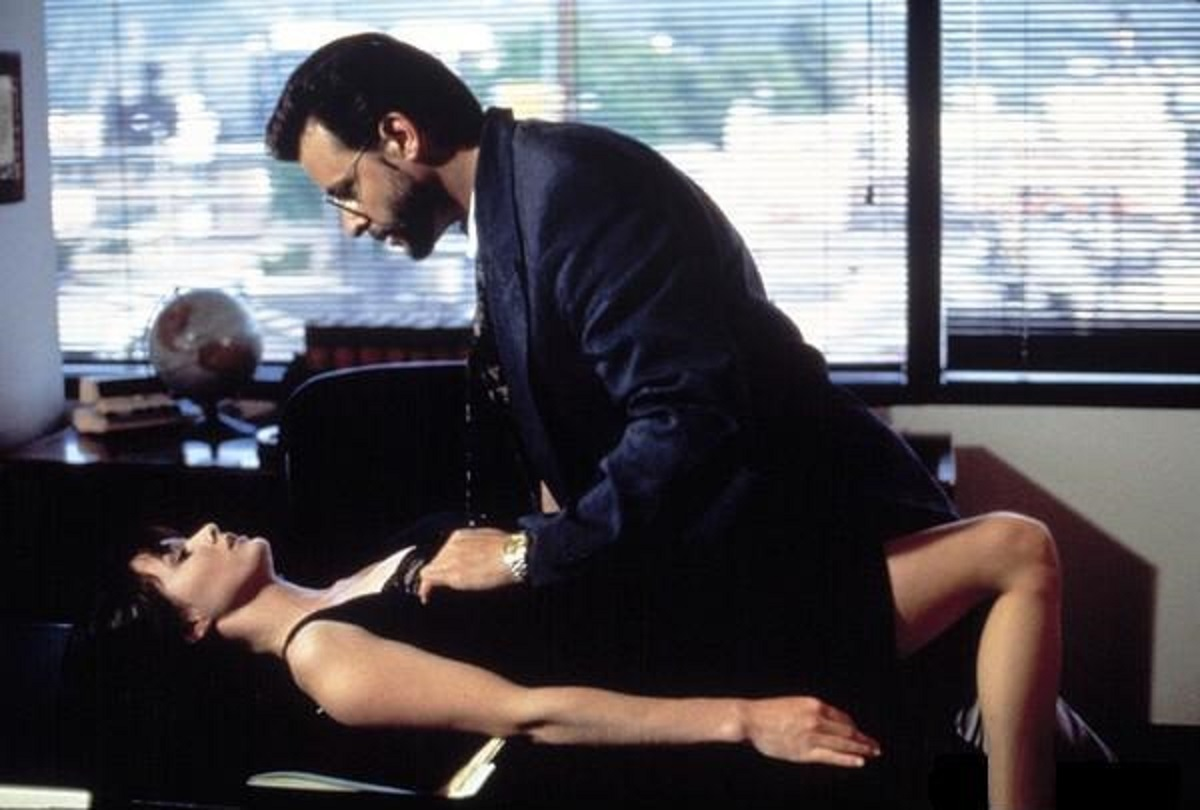 Shannen Doherty and Judd Nelson explore some kink in Blindfold: Acts of Obsession (1993)