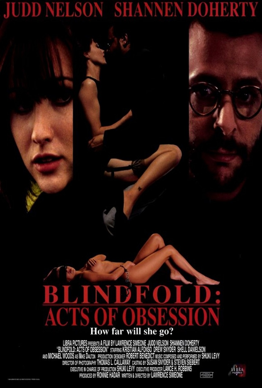 Blindfold: Acts of Obsession (1993) poster