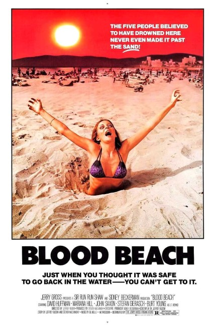Blood Beach (1980) poster