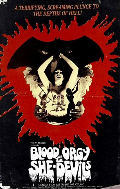 Blood Orgy of the She-Devils (1972) poster