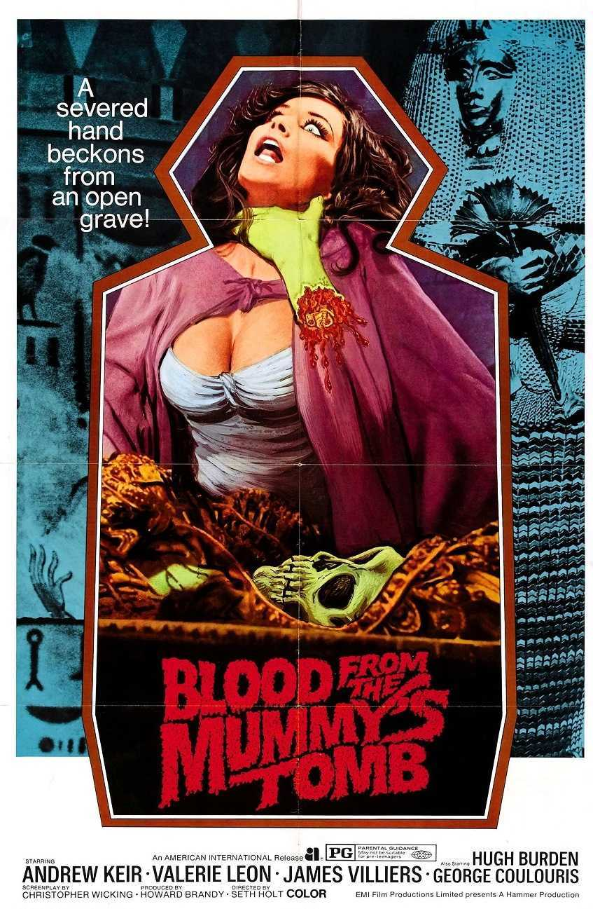 Blood from the Mummy's Tomb (1971) poster
