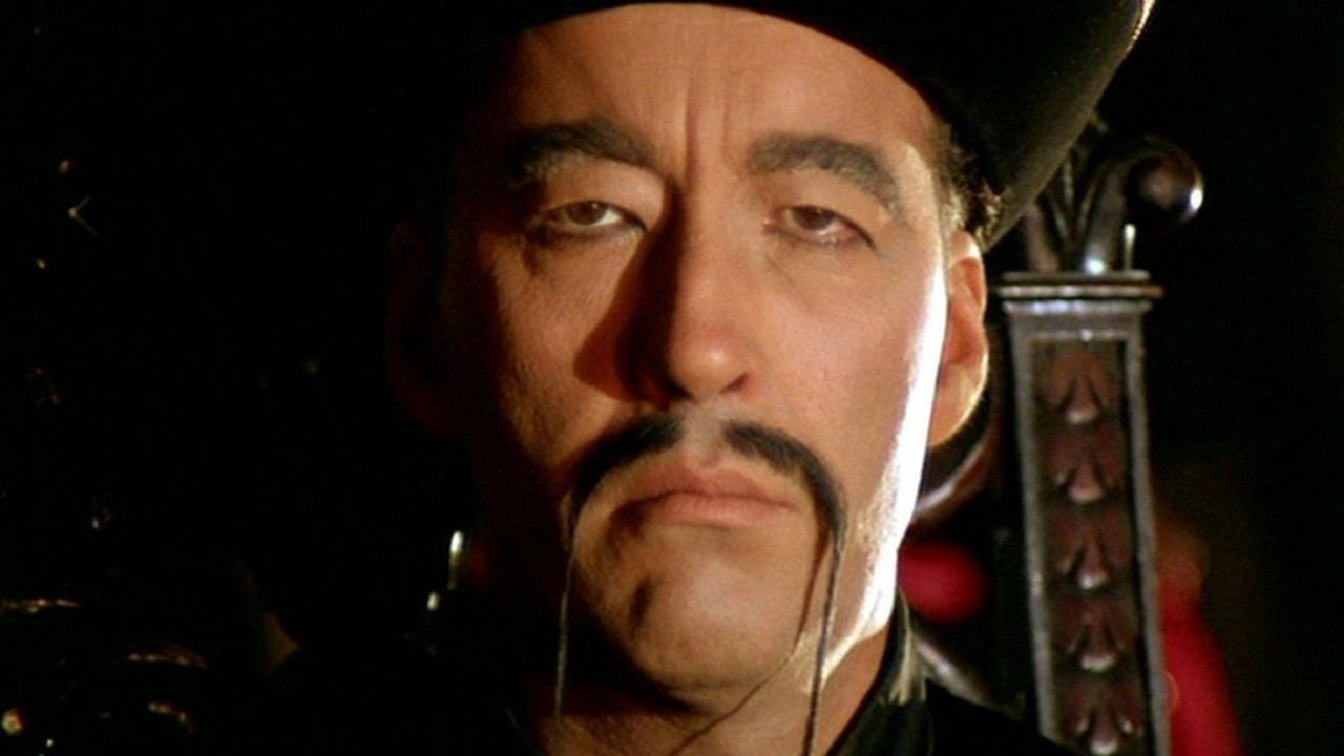 Christopher Lee in The Blood of Fu Manchu (1968)