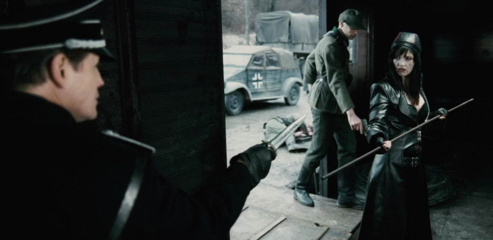 Natassia Malthe and Michael Paré in Bloodrayne: The Third Reich (2011)