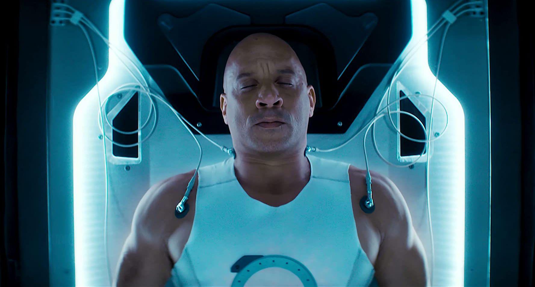US Marine Ray Garrison (Vin Diesel) wakes up rebuilt as a super-soldier in Bloodshot (2020)