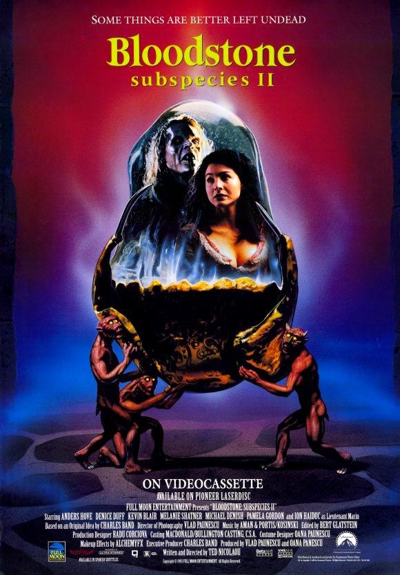 Bloodstone: Subspecies II (1993) poster