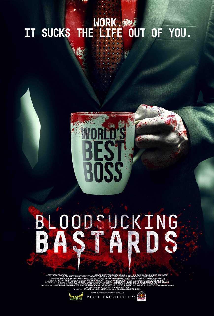 Bloodsucking Bastards (2015) poster