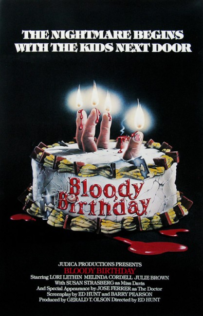 Bloody Birthday (1981) poster