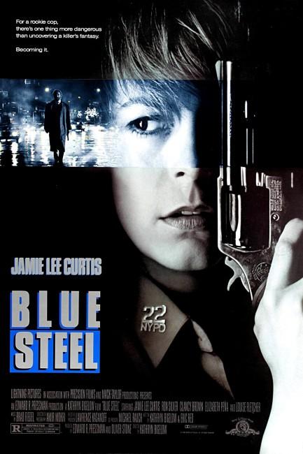 Blue Steel (1990) poster