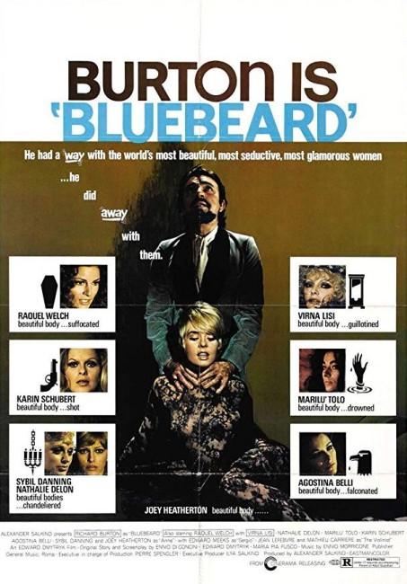 Bluebeard (1972) poster