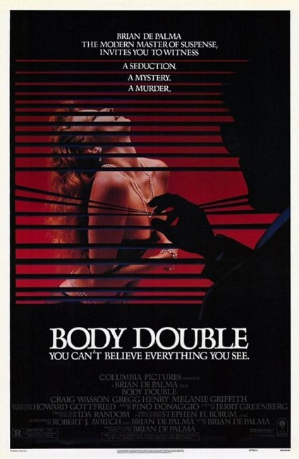Body Double (1984) poster