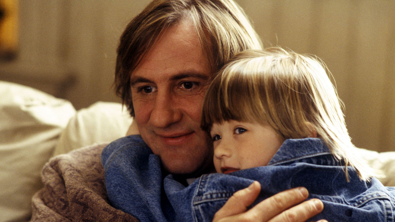 Haley Joel Osment and his invisible companion Gerard Depardieu in Bogus (1996)