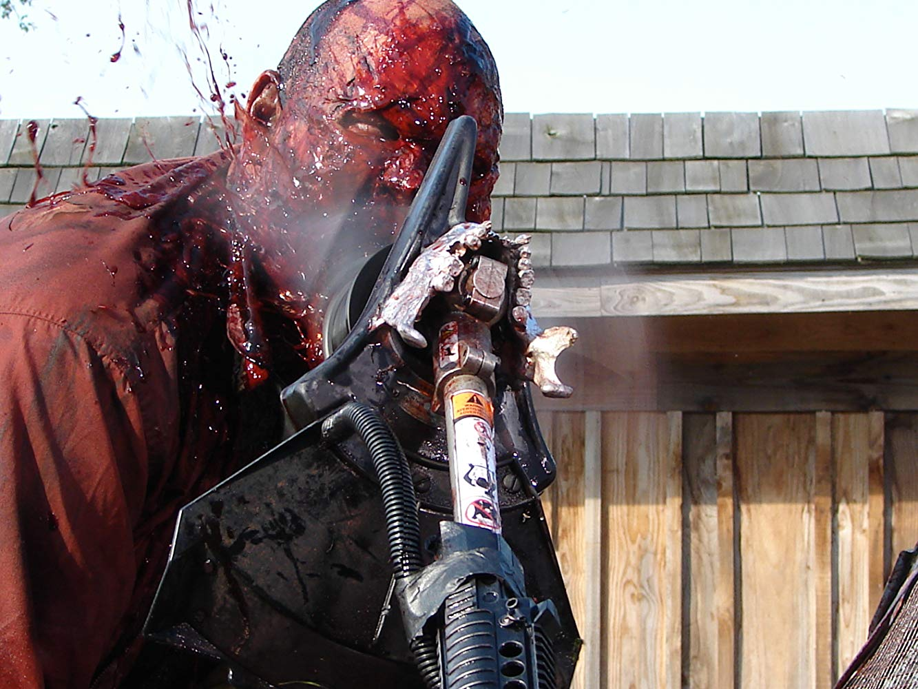 Zombie gore in Bong of the Dead (2011)