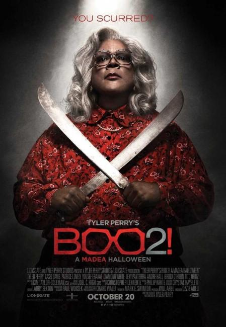 Boo! 2 A Madea Halloween (2017) poster