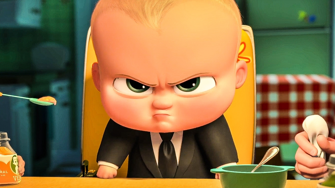 The Boss Baby (voiced by Alec Baldwin) in The Boss Baby (2017)