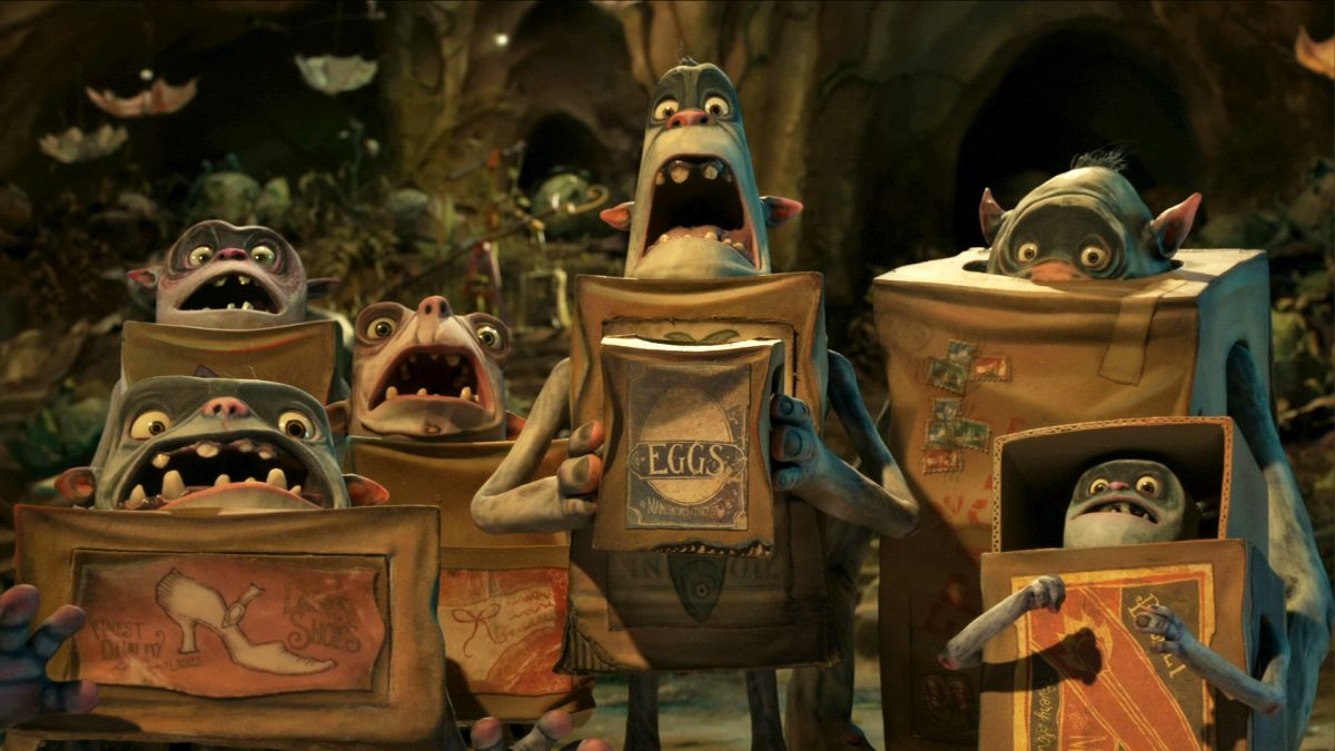 Various Boxtrolls in The BoxTrolls (2014)
