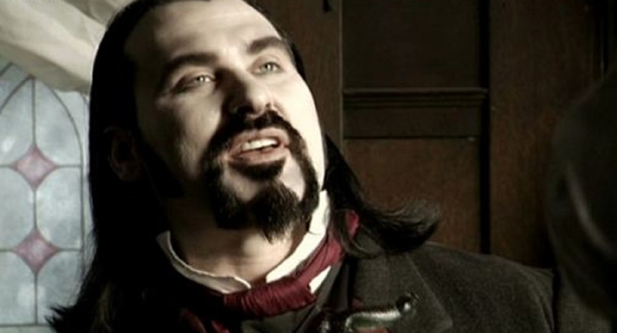 Andrew Bryniarski as Count Dracula in Bram Stoker's Dracula's Guest (2008)