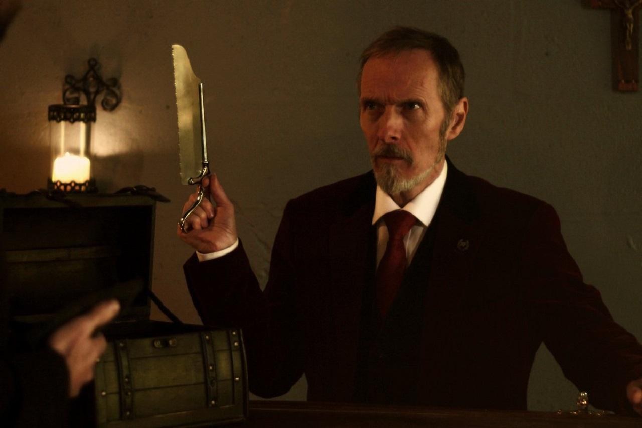 Mark Topping as Professor Van Helsing in Bram Stoker's Van Helsing (2021)