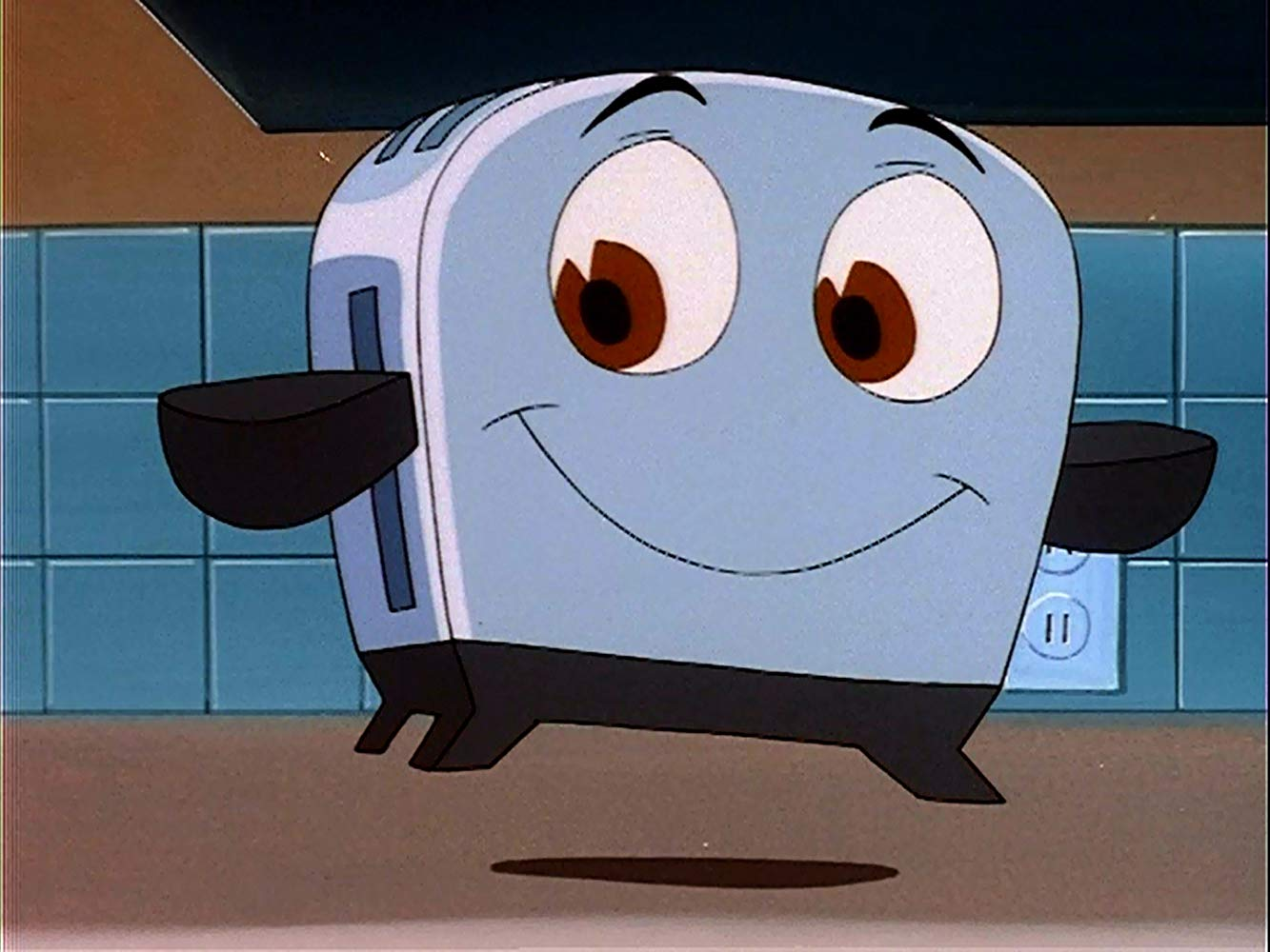 The Brave Little Toaster (voiced by Deanna Oliver) in The Brave Little Toaster (1987) poster