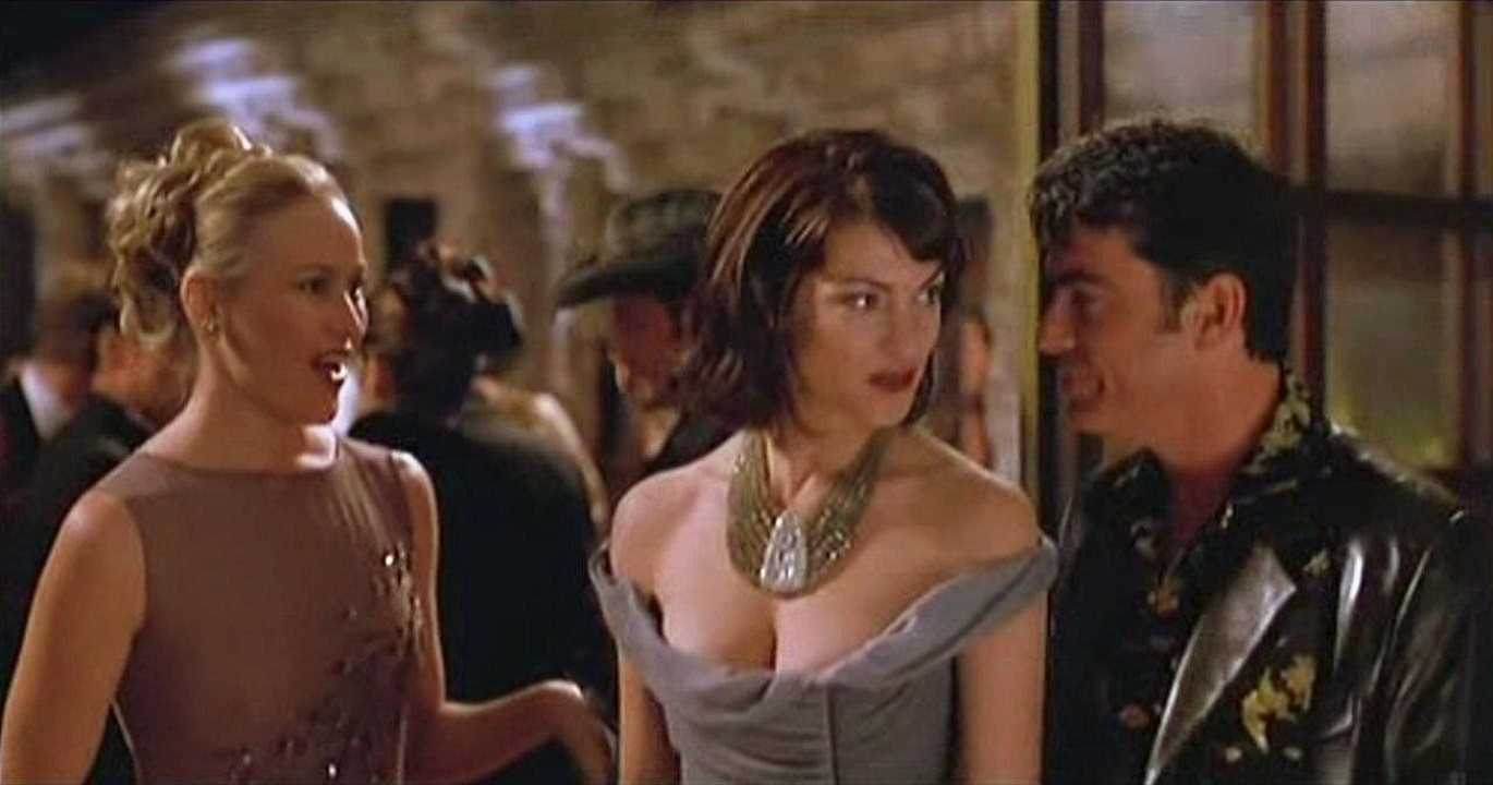 Wendy Benson, Rya Kihlshedt and Peter Gallagher in Brave New World (1998)