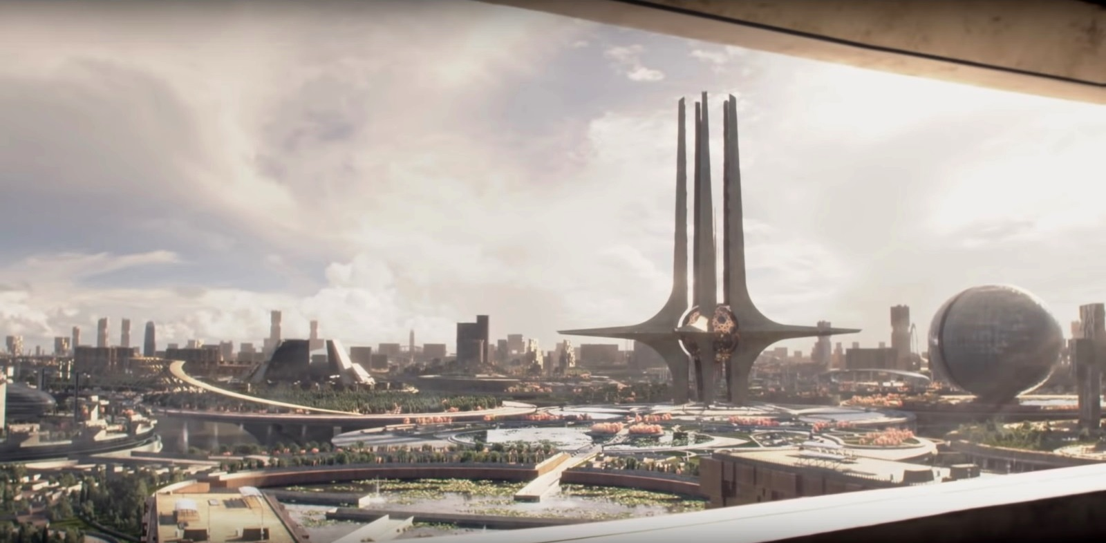 The utopian future of New London in Brave New World (2020)
