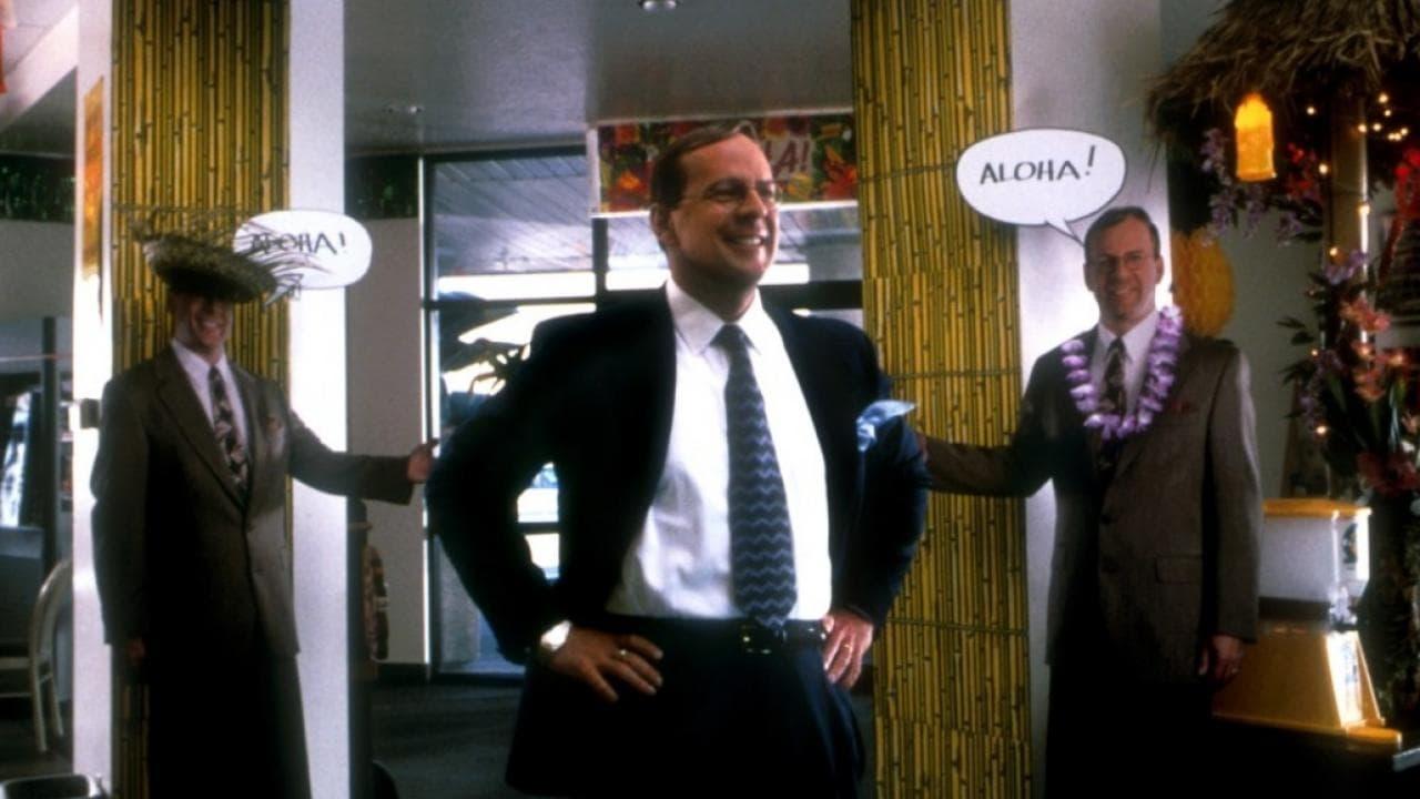 Bruce Willis as car salesman Dwayne Hoover in Breakfast of Champions (1999)