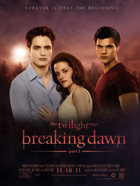 Breaking Dawn Part 1 (2011) poster