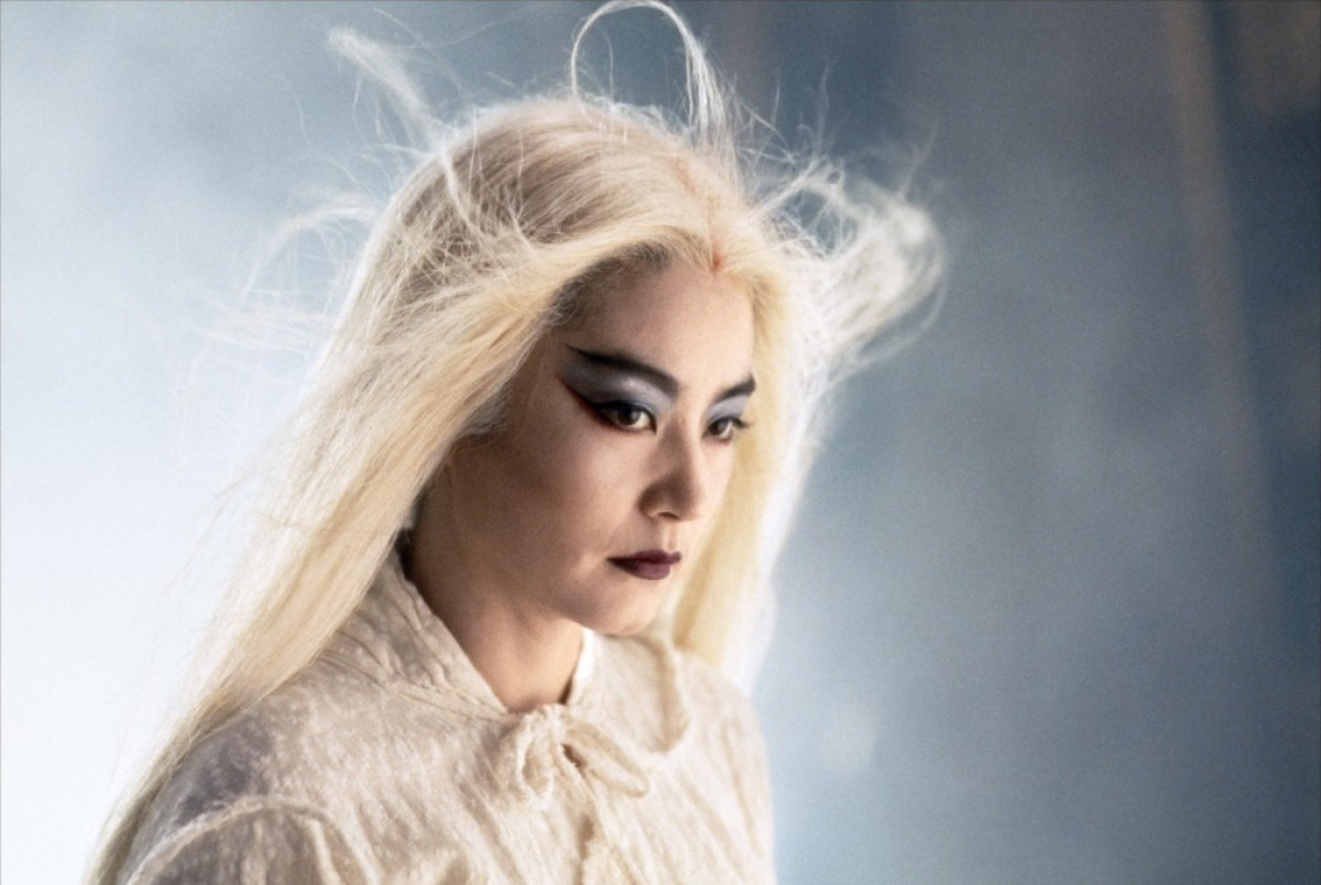 Brigitte Lin as Lien Ni-chang,The Bride with White Hair (1993)