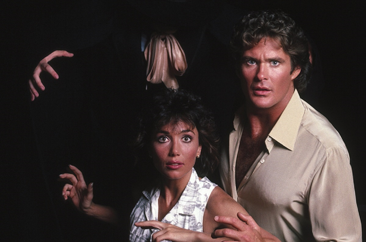 Stephanie Kramer and David Hasselhoff face a resurrected Jack the Ripper in Bridge Across Time (1985)