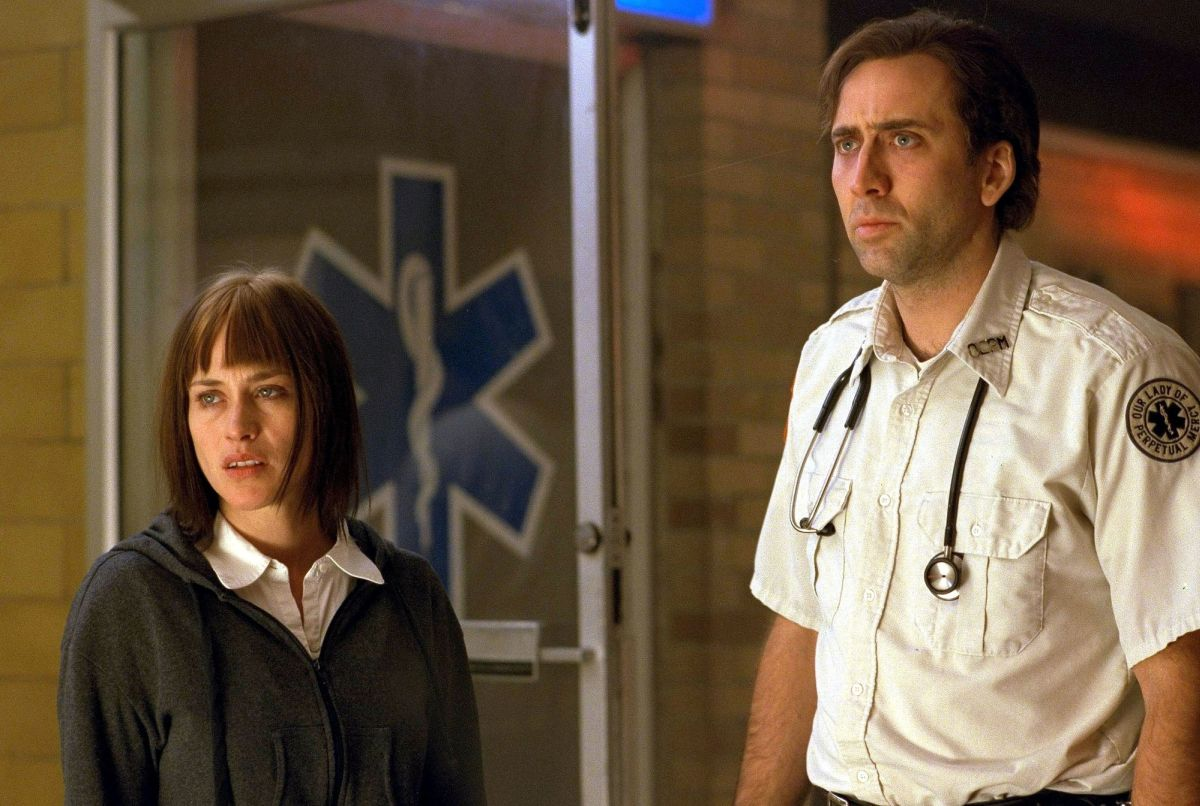 Patricia Arquette, Nicolas Cage in Bringing Out the Dead (1999)