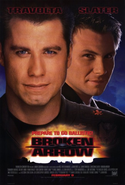 Broken Arrow (1995) poster