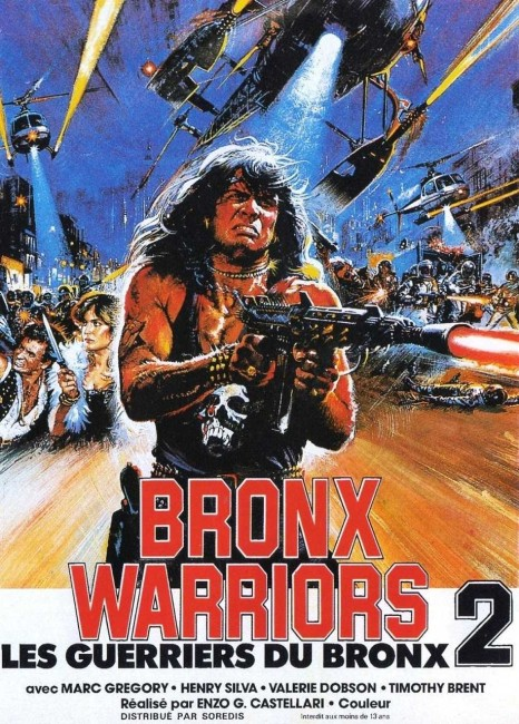 Bronx Warriors II (1983) poster