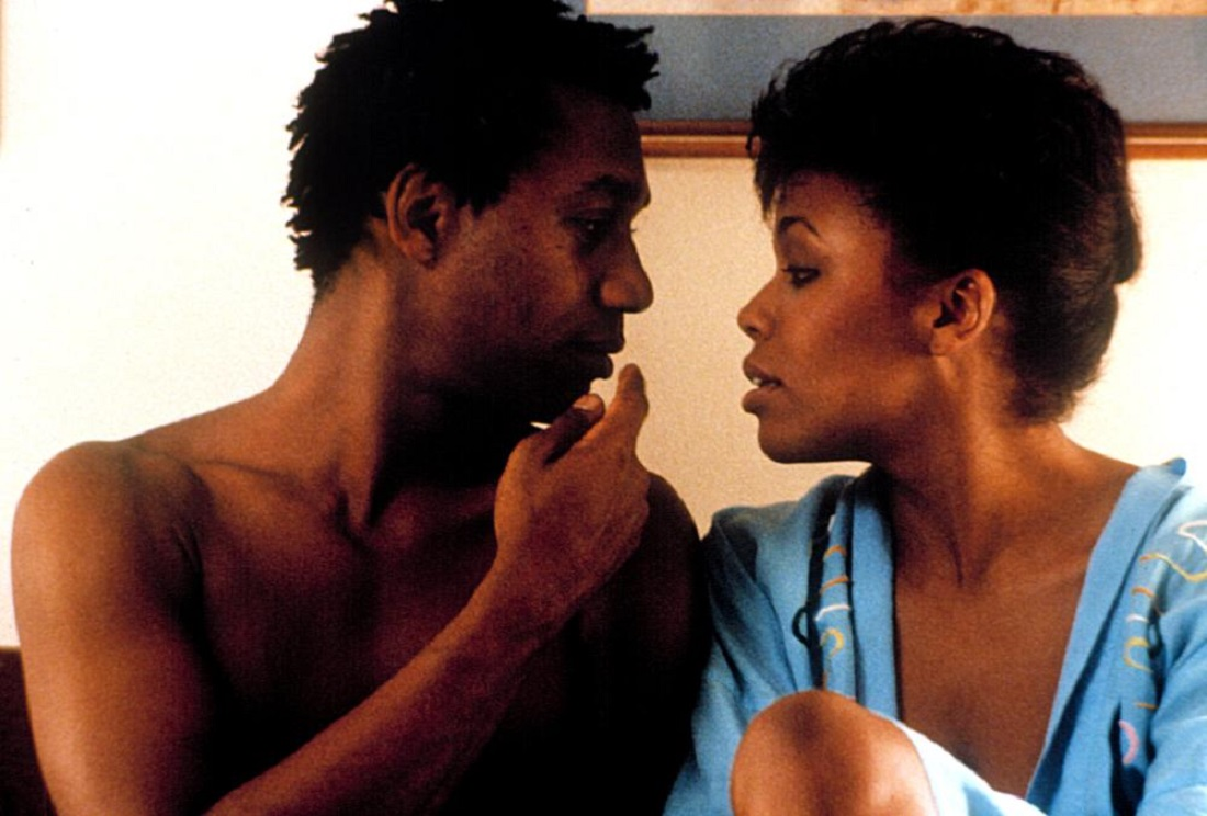 Joe Morton as The Brother with love interest Dee Dee Bridgewater in The Brother from Another Planet (1984)